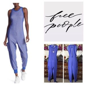 Free People FP Movement Ace Oversized Romper. NWT.